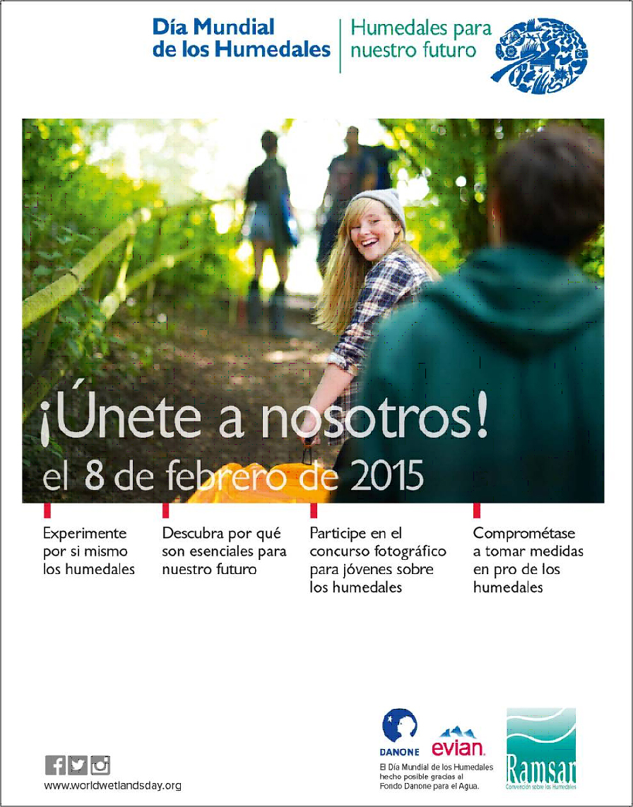 Póster Día Mundial Humedales 2015